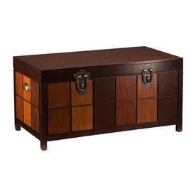 Boston Loft Furnishings Kenneth Espresso Pine Coffee Table