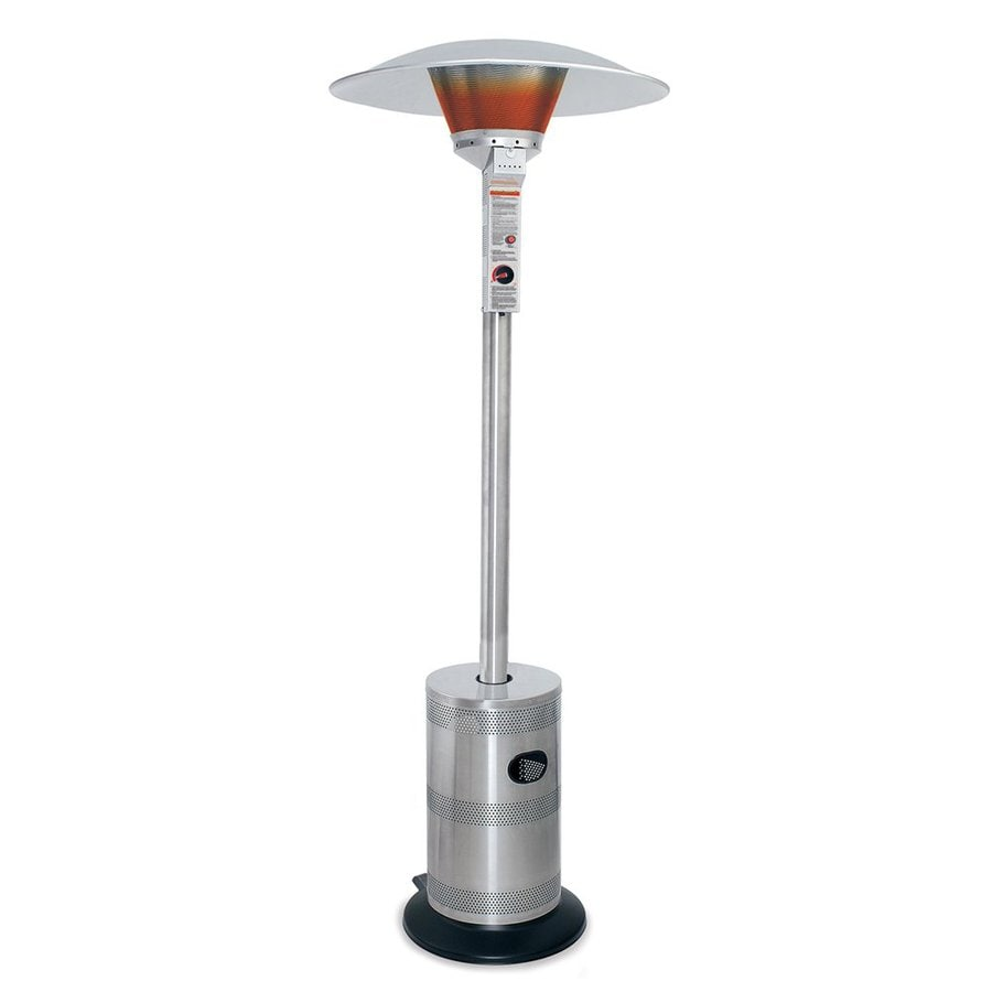 Blue Rhino 40000 BTU Stainless Steel Floorstanding Liquid Propane Patio  Heater