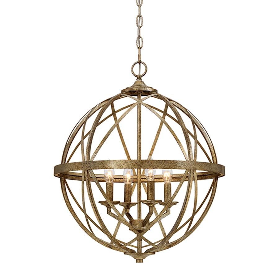 Millennium Lighting Lakewood 20-in Vintage Gold Industrial Single Orb Pendant  sc 1 st  Loweu0027s & Shop Millennium Lighting Lakewood 20-in Vintage Gold Industrial ...