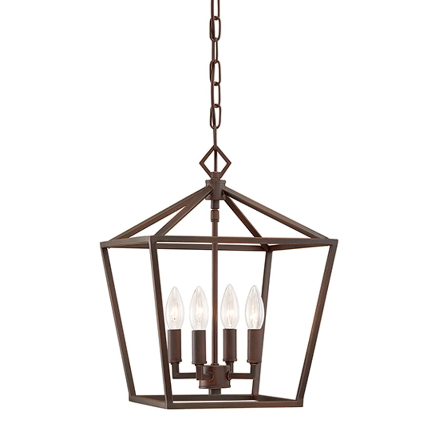 cage lighting. Millennium Lighting 12-in Rubbed Bronze Vintage Single Cage Pendant I