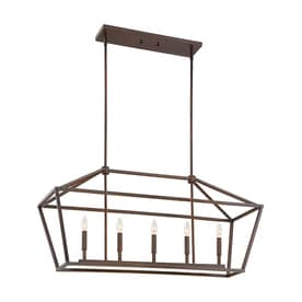 Millennium Lighting 40 In W 5 Light Kitchen Island Light