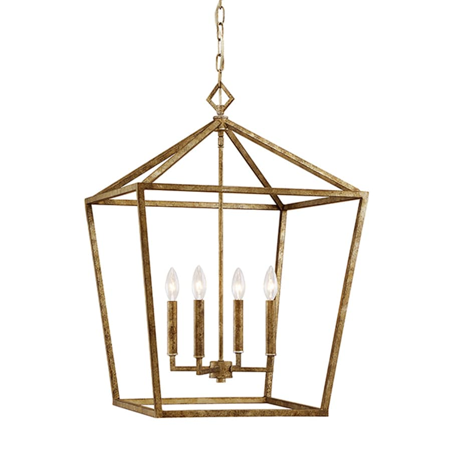 Shop Millennium Lighting 20 In Vintage Gold Vintage Single