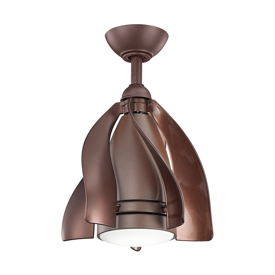 Shop kichler terna 15 in tannery bronze led indooroutdoor downrod kichler terna 15 in tannery bronze led indooroutdoor downrod mount ceiling fan with arubaitofo Choice Image