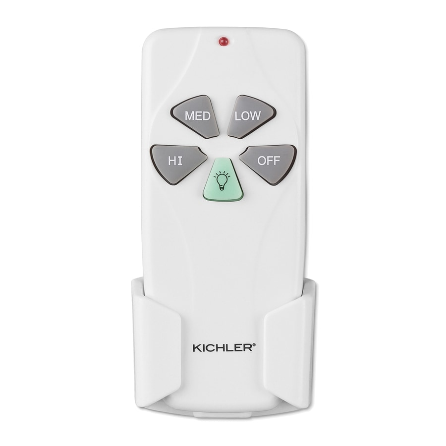 Wall Mounted Fans With Remote Control : Shop kichler white handheld wall mount universal ceiling