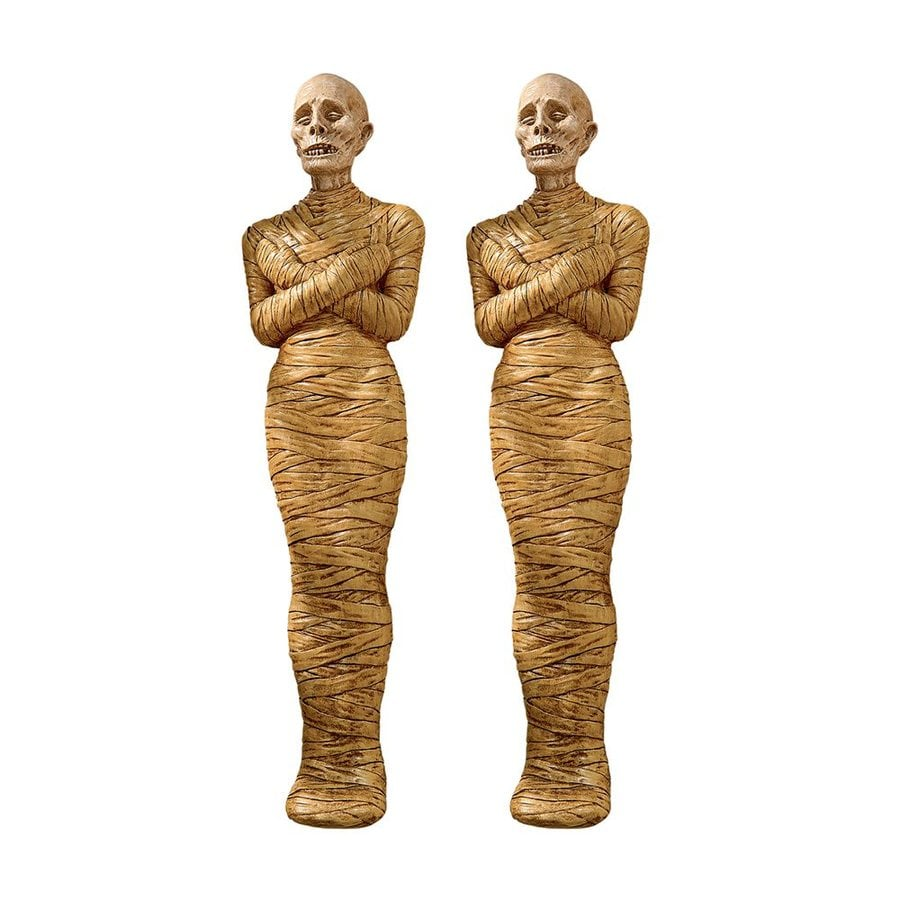 Shop Design Toscano Set Of 2 Curse Of The Mummy Wall Mounted Statues