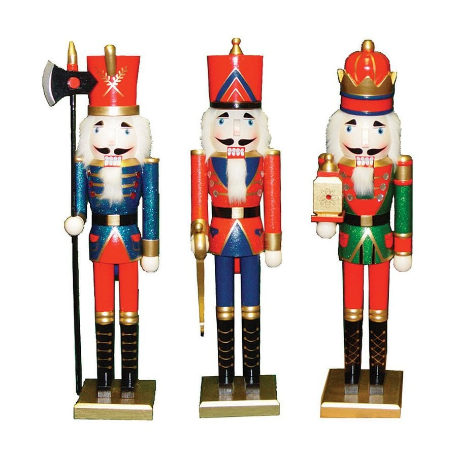 Santa's Workshop King, Guard, and Soldier Nutcracker