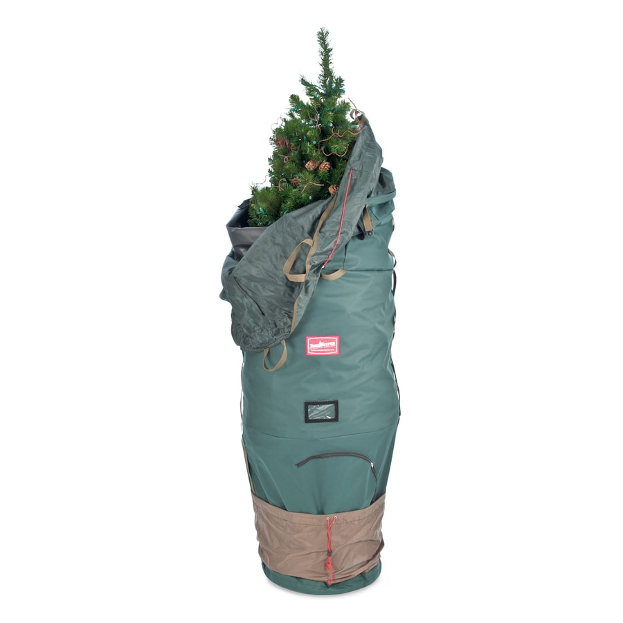 TreeKeeper 33-in W x 95-in H 59.8-cu ft Polyester Christmas Tree Storage Bag