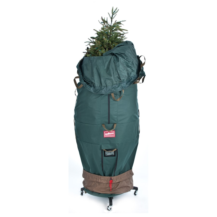 Treekeeper 33 In W X 95 H 59 8 Cu Ft Polyester Christmas