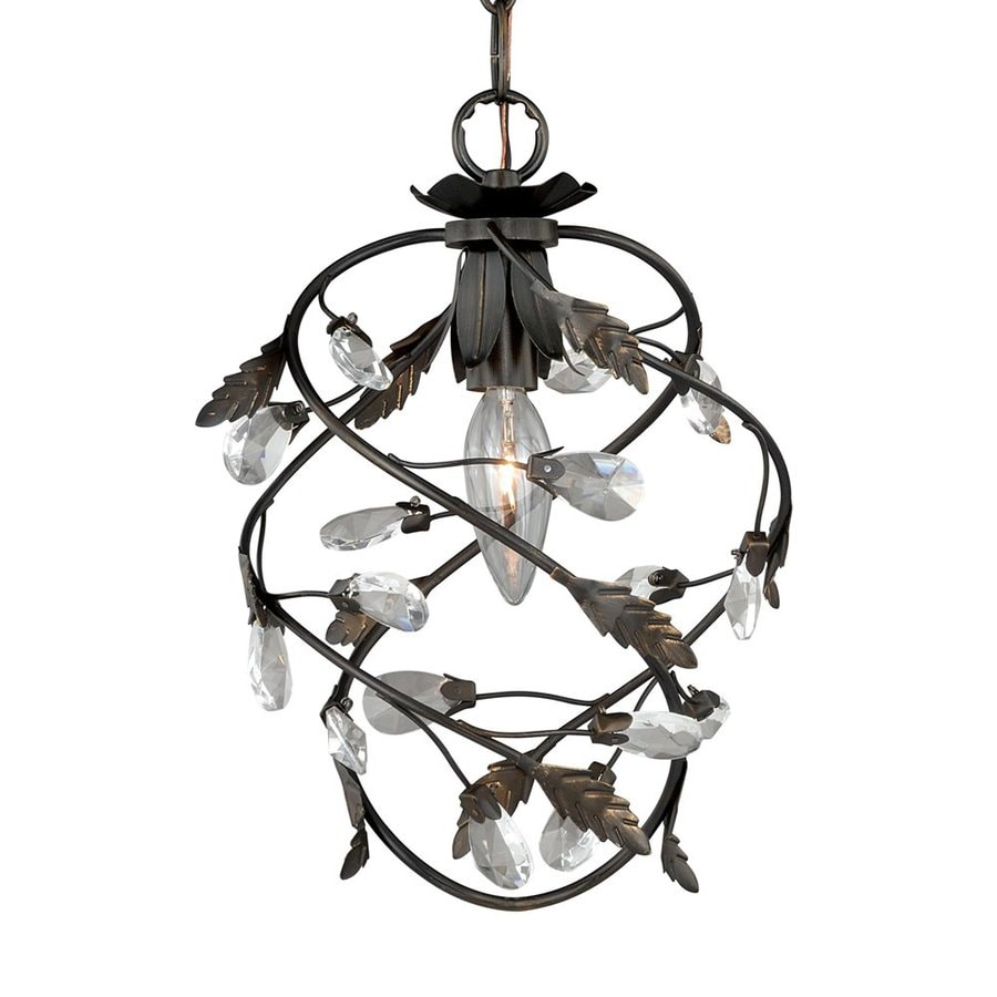 cascadia lighting trellis architectural bronze traditional cage pendant at lowes com
