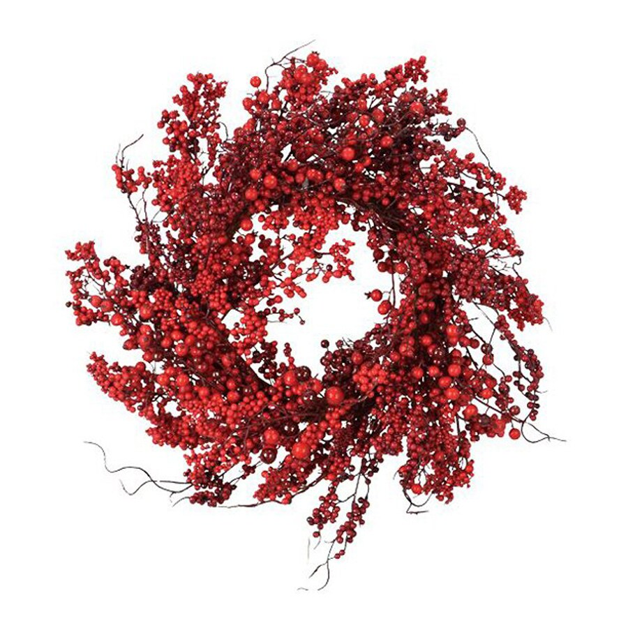 Fantastic Craft 22-in Un-Lit Red Berry Artificial Christmas Wreath