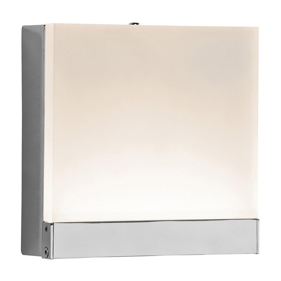 Elan Colson 1-Light 5-in Chrome Square Integrated LED Vanity Light