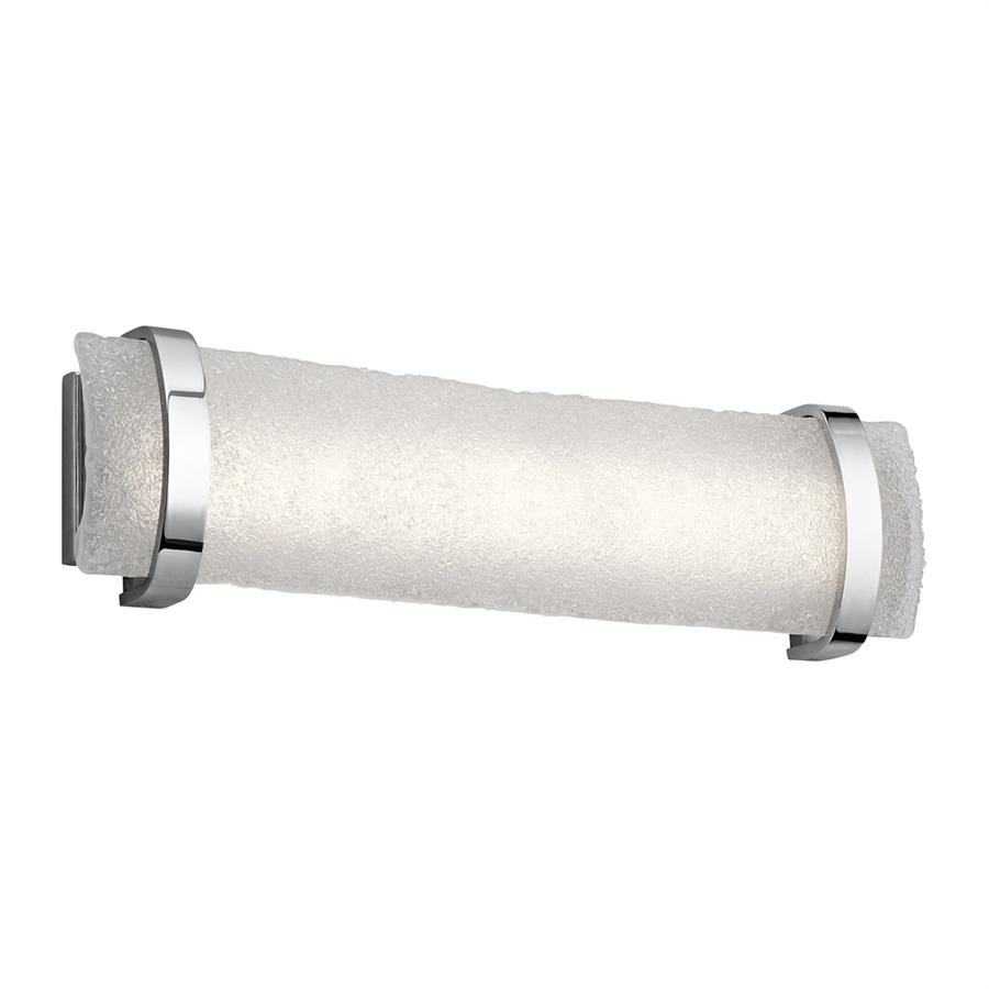 Elan Adara 1-Light 6.75-in Brushed nickel Rectangle LED Vanity Light Bar
