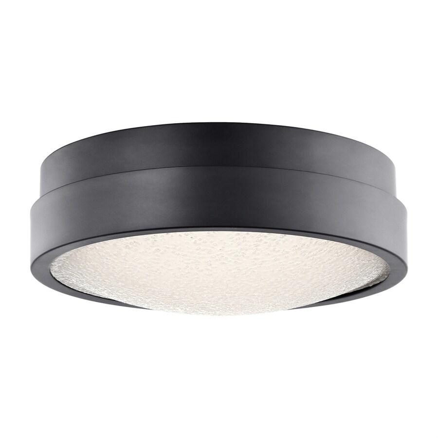 Elan Piazza 13-in W Bronze LED Flush Mount Light