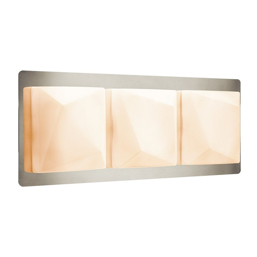 Elan Kapture 3-Light 8.75-in Chrome Square Vanity Light