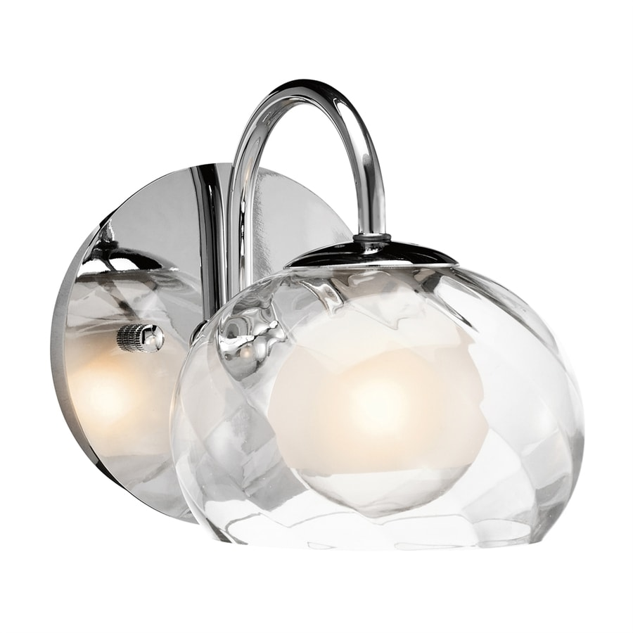 Elan Niu 1-Light 6-in Chrome Dome Vanity Light