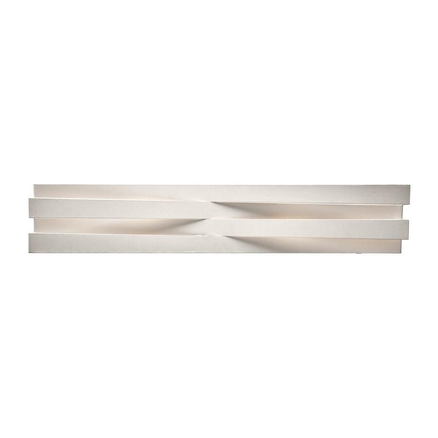 Elan Massimik 1-Light 5.5-in White Rectangle Vanity Light Bar