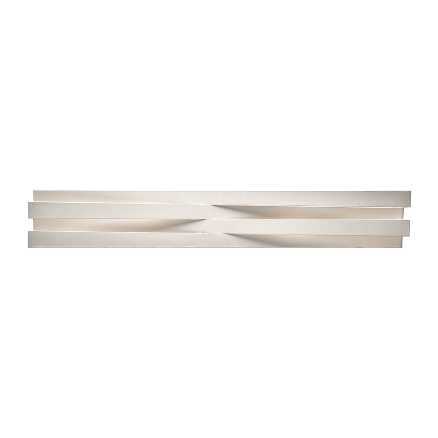 Elan Massimik 1-Light 5.5-in White Rectangle Vanity Light Bar