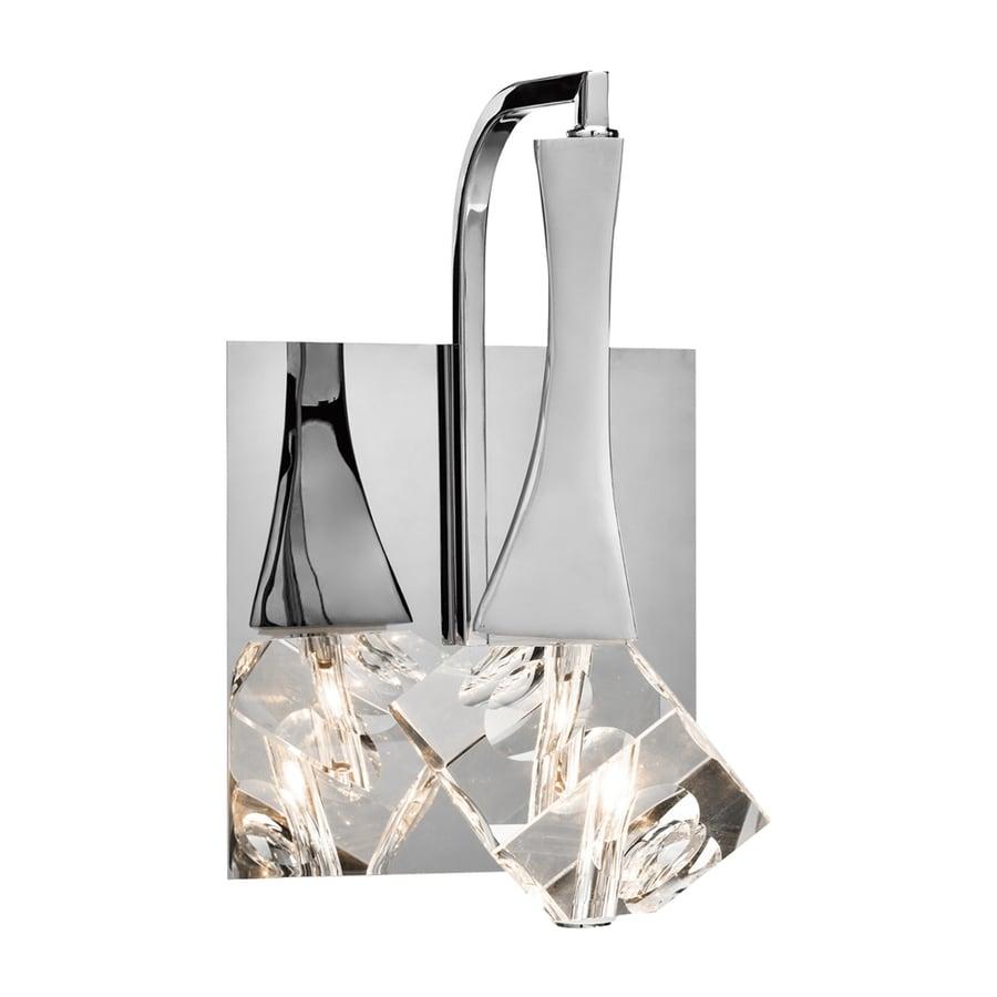 Elan Rockne 1-Light 9.25-in Chrome Teardrop Vanity Light