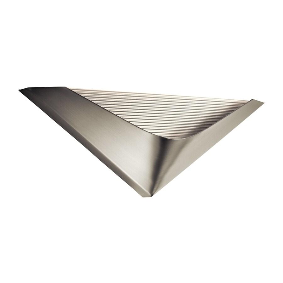 Elan Pandim 15.75-in W 1-Light Brushed Nickel Pocket LED Wall Sconce