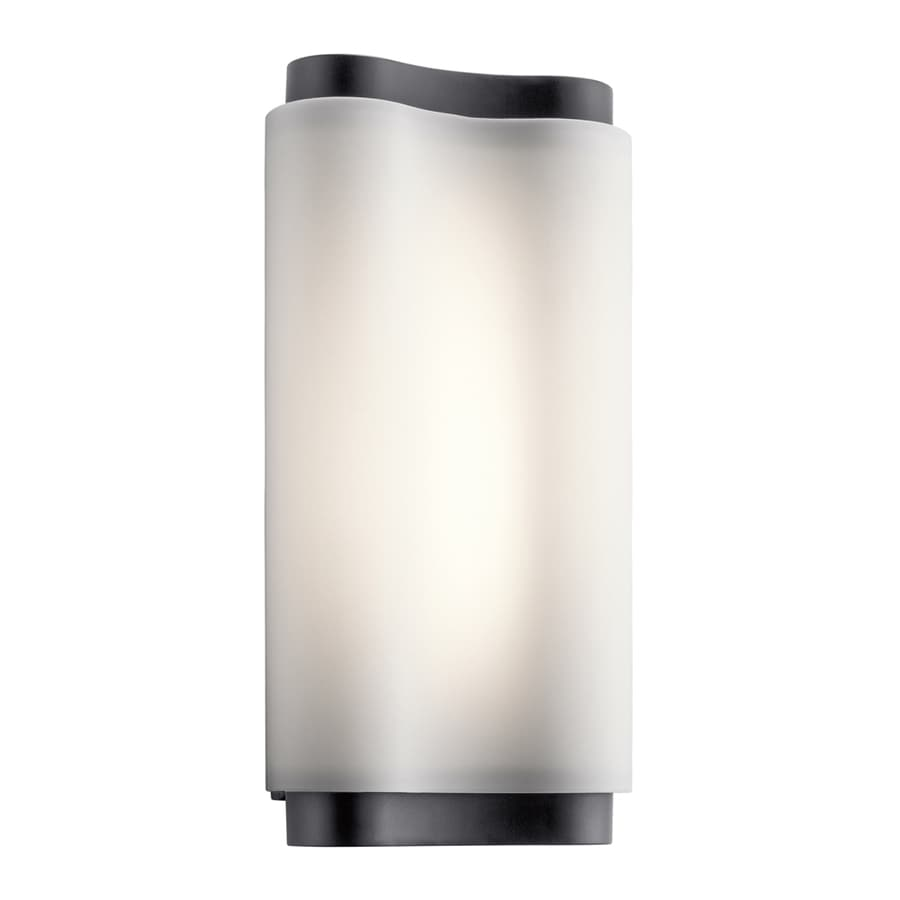 Elan Kaz 5.5-in W 1-Light Bronze Wall Wash LED Wall Sconce