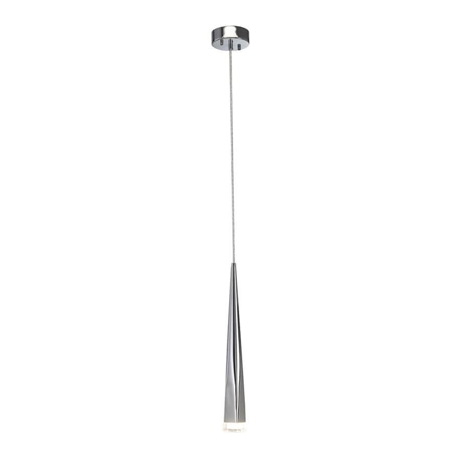 Elan Antonia 2.2-in Chrome Mini Cone LED Pendant