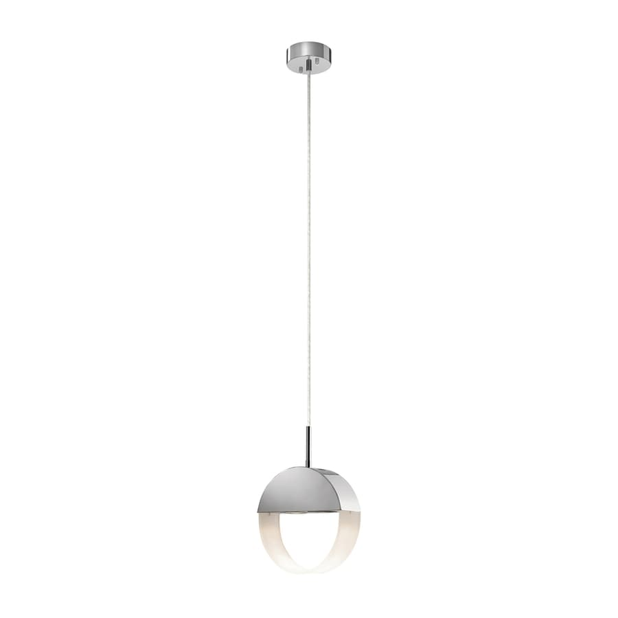 Elan Anello 3.15-in Chrome Hardwired Mini  Pendant