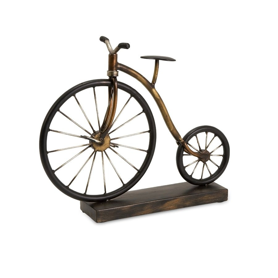 Imax Worldwide Wrought Iron Vintage Bicycle Statue