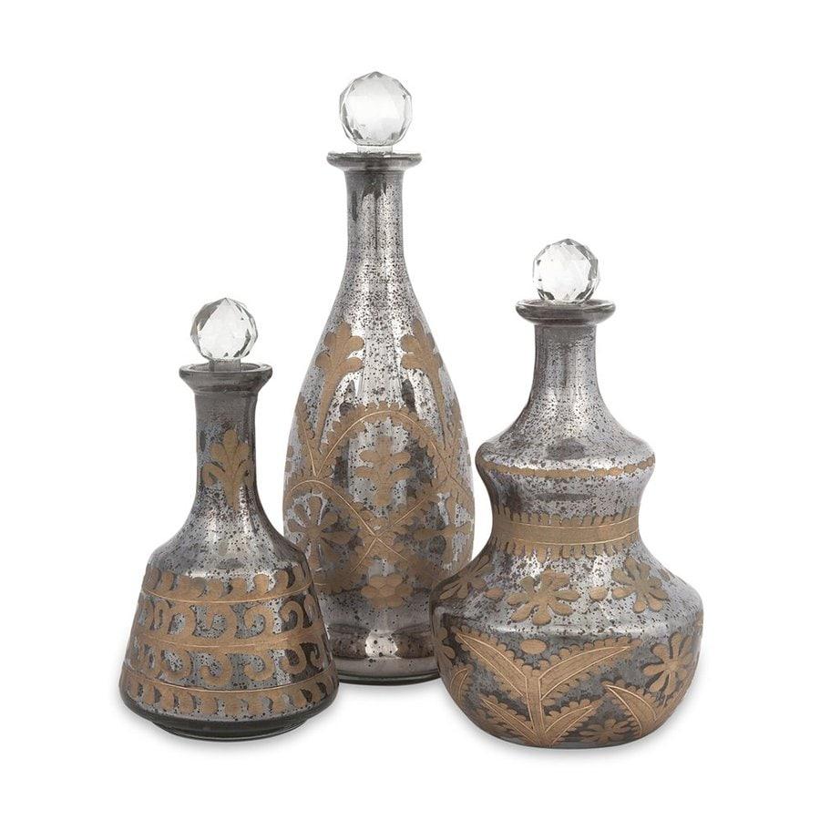 Imax Worldwide Set of 3 Glass Jars