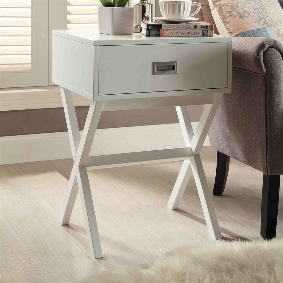 Convenience Concepts Landon White End Table