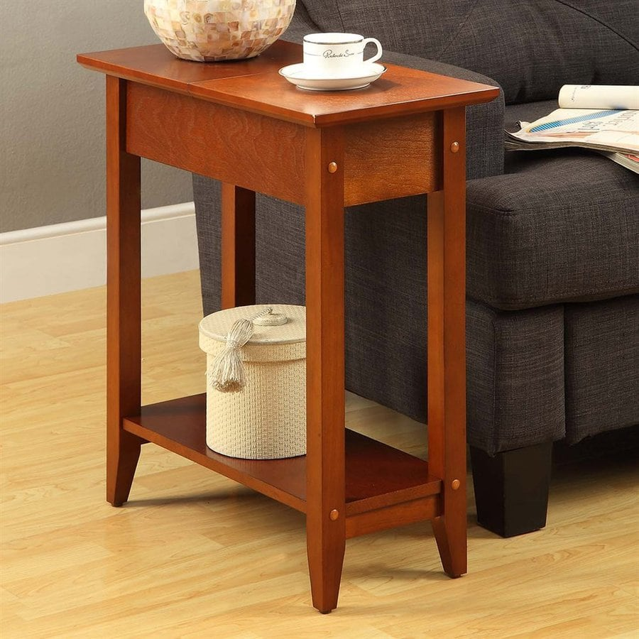 Convenience Concepts American Heritage Cherry Composite Rectangular End Table