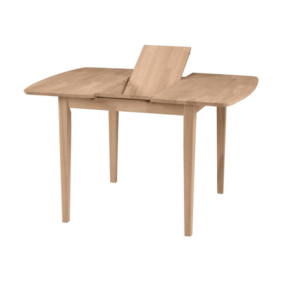 International Concepts Wood Extending Dining Table