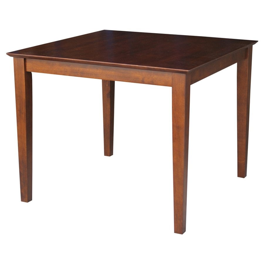 International Concepts Espresso Square Dining Table