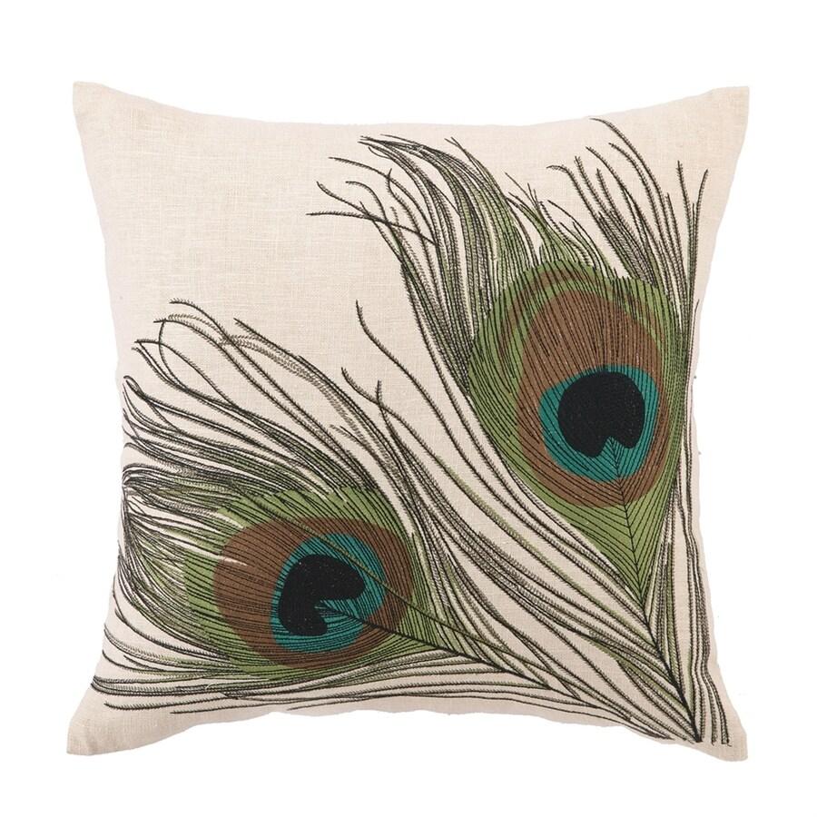Peking Handicraft 16-in W x 16-in L Indoor Decorative Pillow