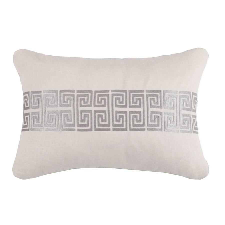 Peking Handicraft 14-in W x 20-in L Stone Rectangular Indoor Decorative Pillow