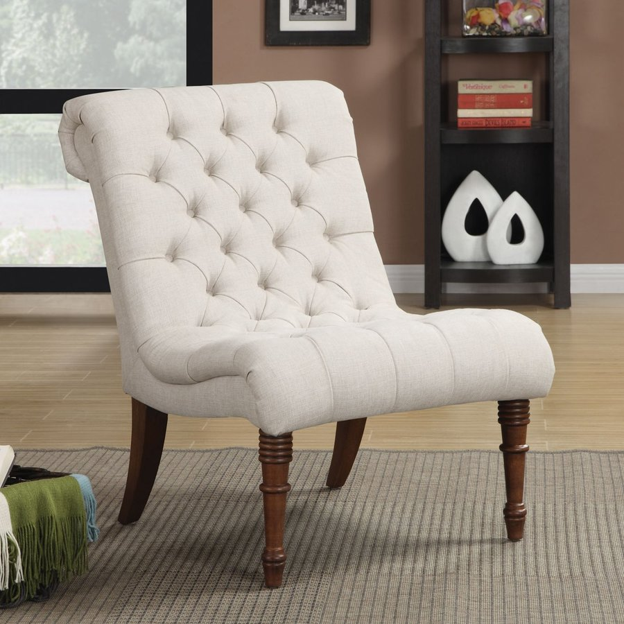 Coaster Fine Furniture Oatmeal Linen Accent Chair