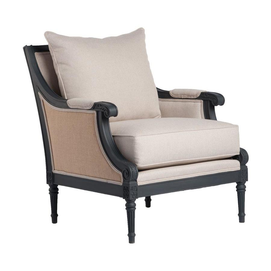 Comfort Pointe Raleigh Burlap Accent Chair