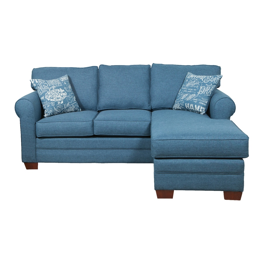 Chelsea Home Dorset Raconteur Denim Polyester Sectional