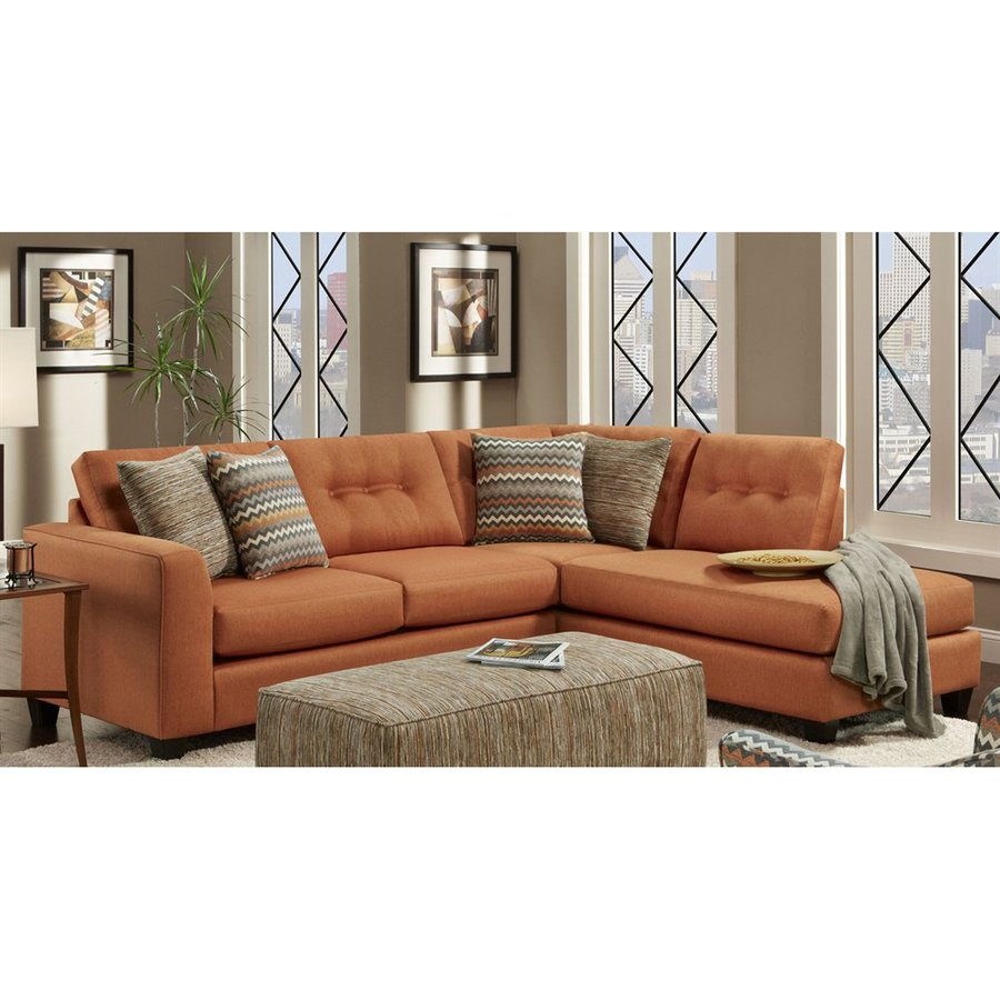 Chelsea Home Phoenix Fandango Flame Sectional