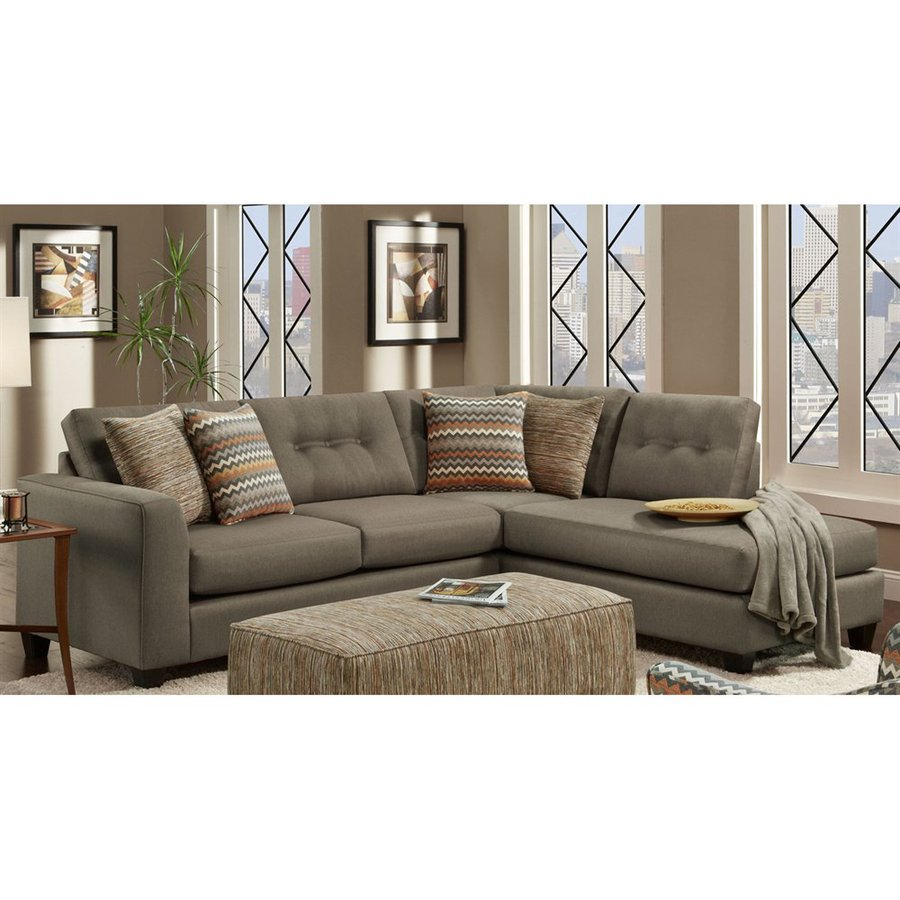 Mocha Sectional Sofa New Holiday Bargains On Simmons