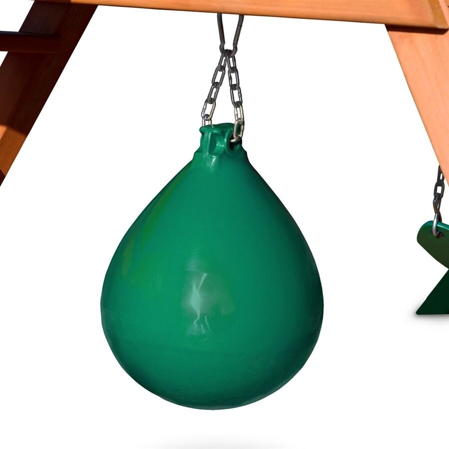 Gorilla Playsets Green Punching Bag