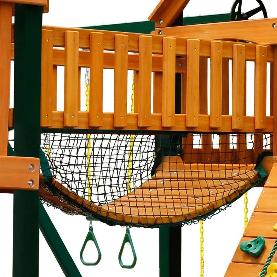 Gorilla Playsets Mesh Panel Residential Wood Playset
