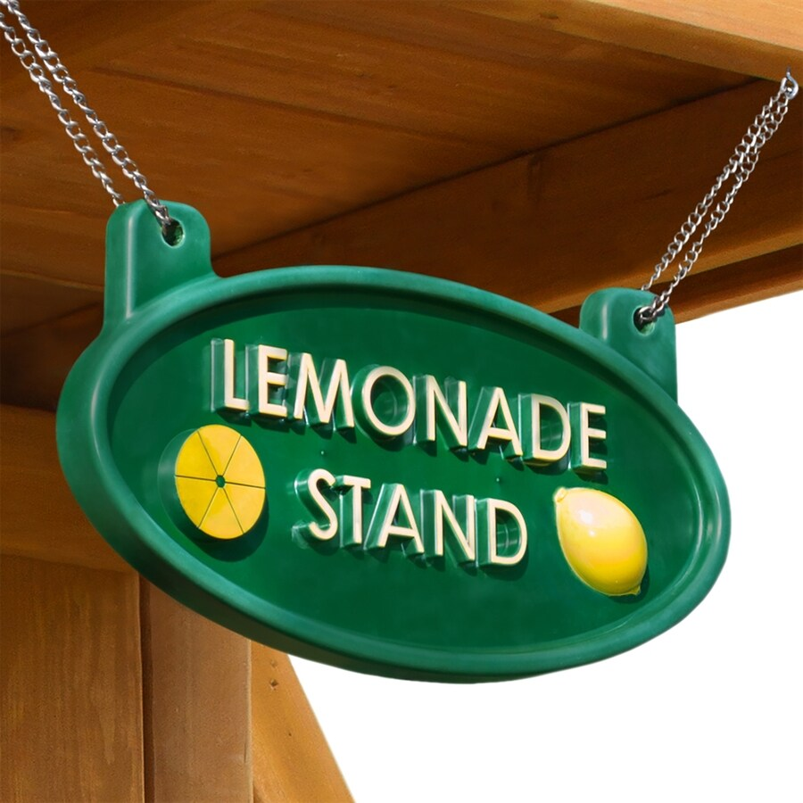 Gorilla Playsets 6-in x 11.5-in Lemonade Stand Sign