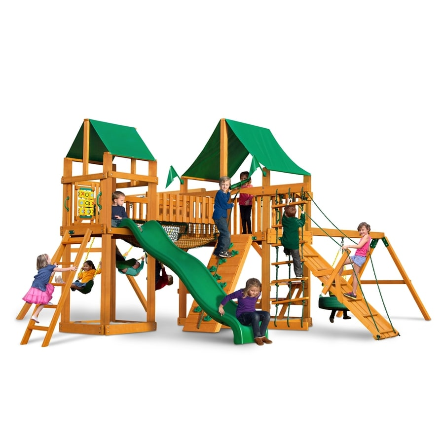 Shop gorilla playsets pioneer park residential wood for Gorilla playsets