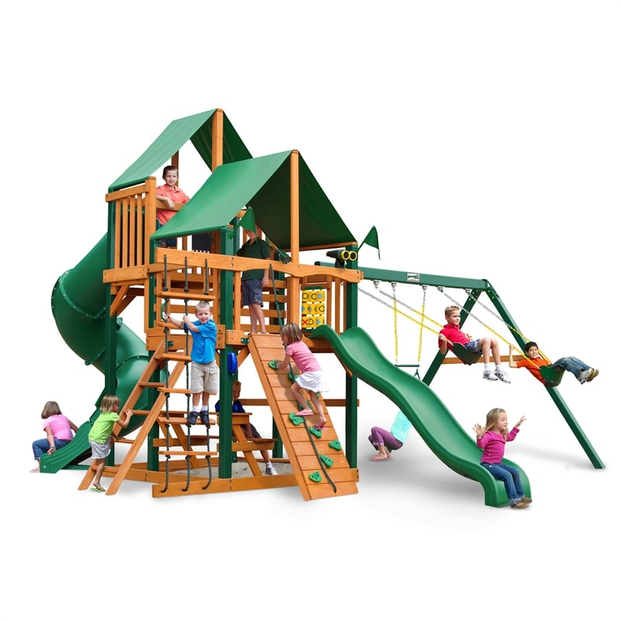 Shop gorilla playsets great skye i residential wood for Gorilla playsets
