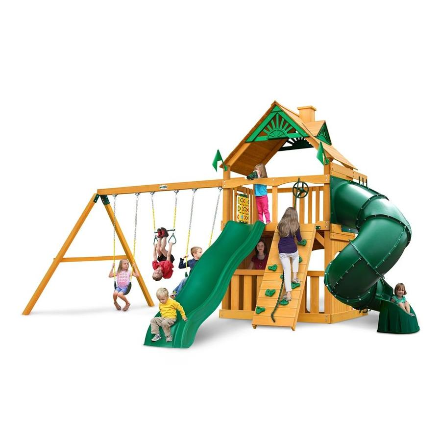 Shop gorilla playsets mountaineer clubhouse residential for Gorilla playsets