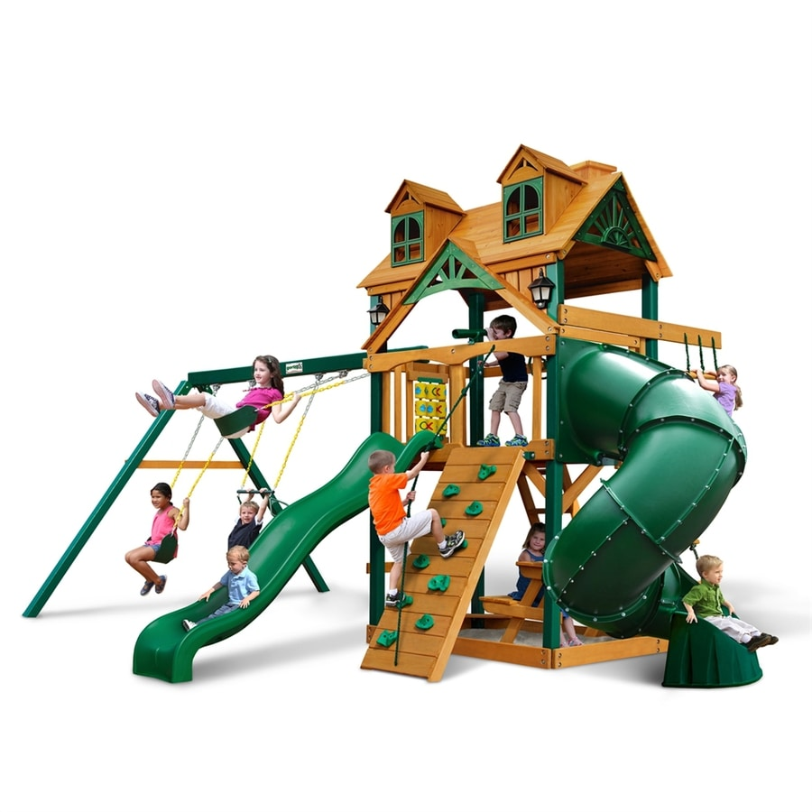 Shop gorilla playsets malibu extreme residential wood for Gorilla playsets