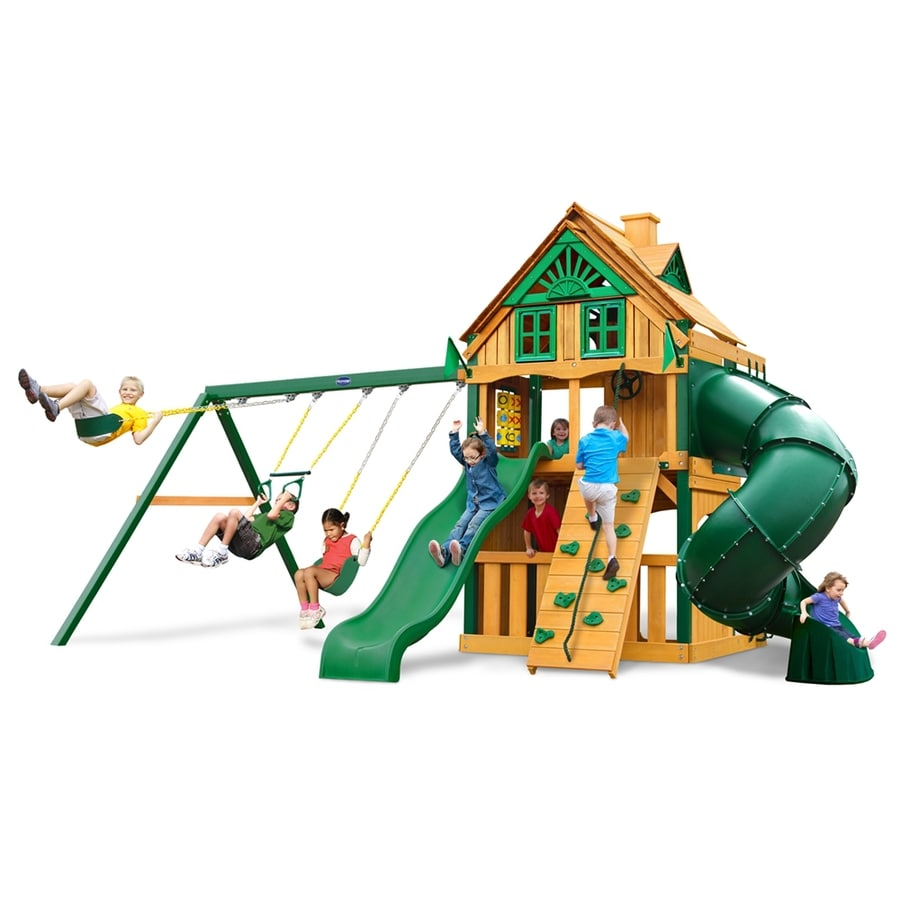 Shop Gorilla Playsets Mountaineer Clubhouse Treehouse