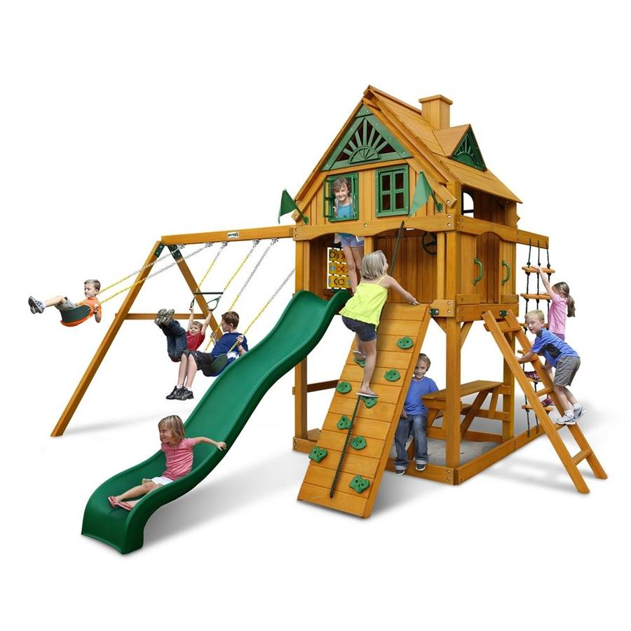Shop gorilla playsets mountain ridge residential wood for Gorilla playsets