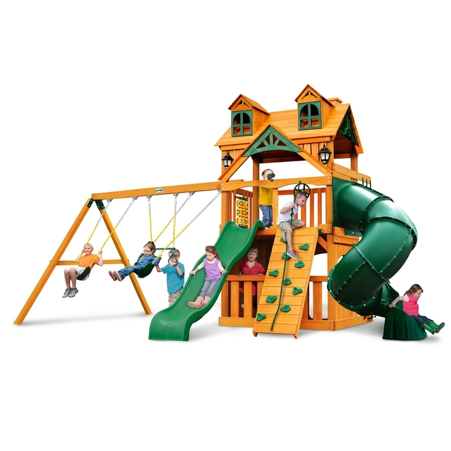Shop gorilla playsets malibu extreme clubhouse residential for Gorilla playsets
