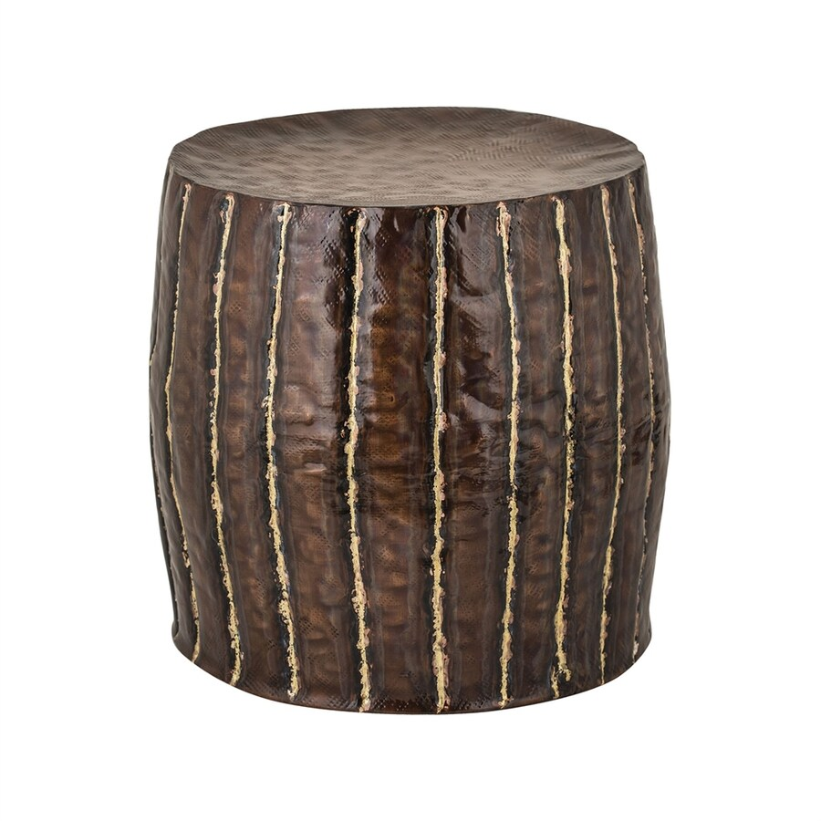 Dimond Home Copper 18-in Small Stool